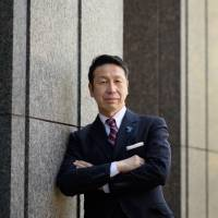 Ryuichi Yoneyama, governor of Niigata Prefecture, poses for a photograph in Tokyo on Jan. 23. | BLOOMBERG