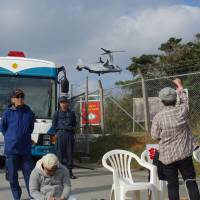 Okinawa base critics say helipad construction tactics a sign of things to come