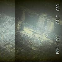 Based on image analysis, a two-meter hole has been found in the metal grate under a pressure vessel in reactor No. 2's containment vessels at the Fukushima No. 1 nuclear power plant. | TOKYO ELECTRIC POWER COMPANY HOLDINGS INC. / VIA KYODO