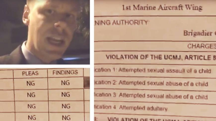 Pedophile sting ops roil U.S. forces on Okinawa