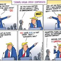Why Donald Trump loves to hate the media