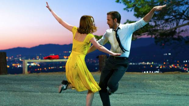 Ryan Gosling and Emma Stone hope to dance their way to Oscars glory in 'La La Land'