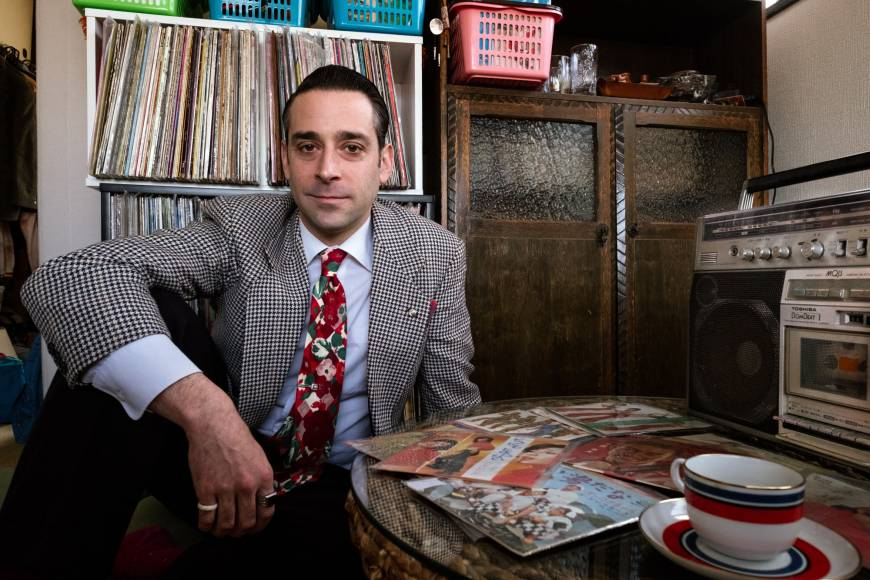 Justin Miller brings an American touch to one of Japan's richest musical genres: Showa pop