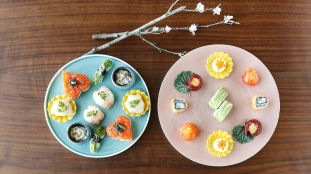 Welcome the season with sushi