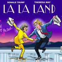Theresa May got Trumped