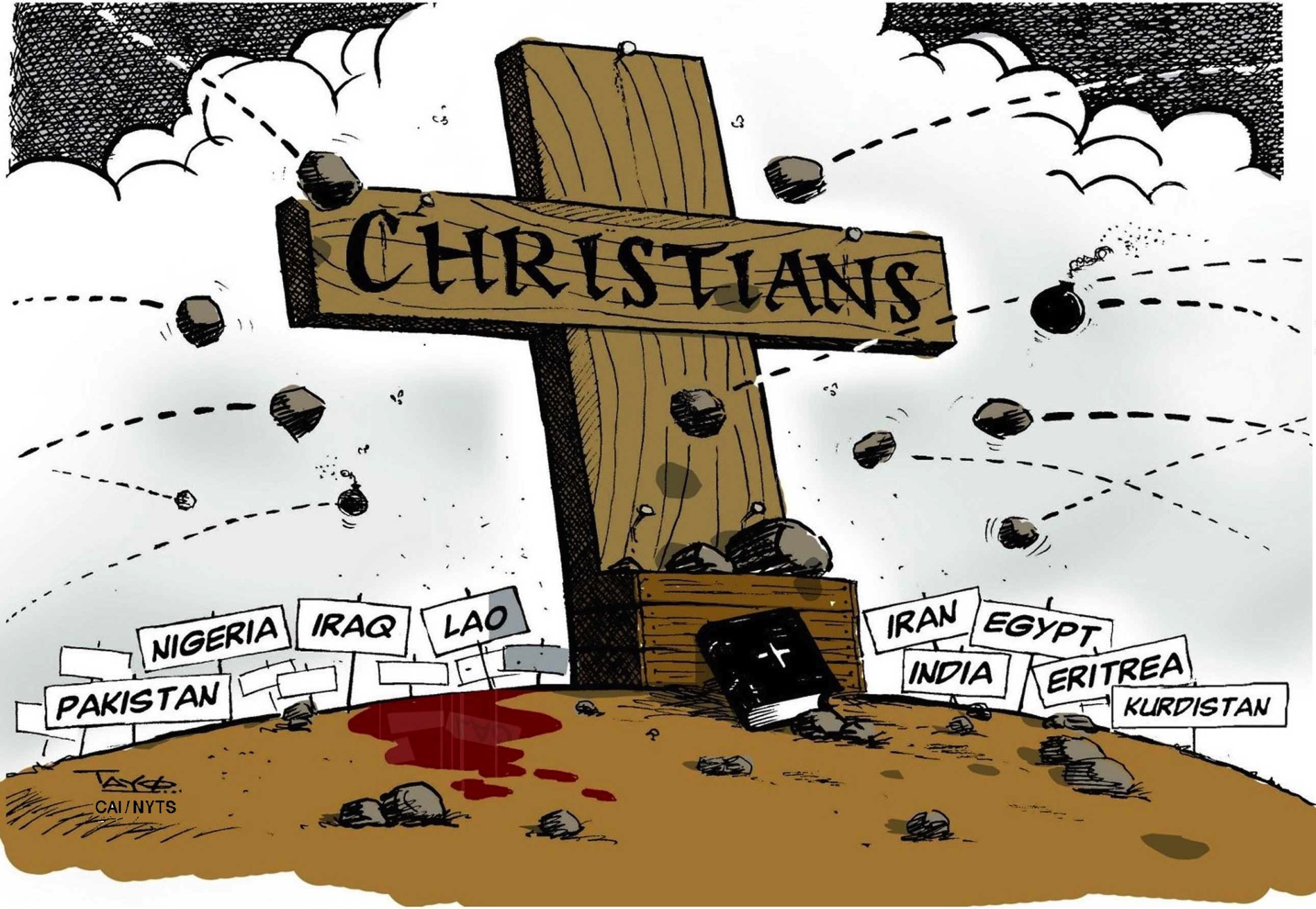 Anti-Christian religious persecution on the rise | The Japan Times