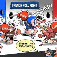 Think the U.S. election was dirty? Look at France