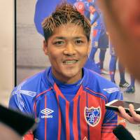 Yoshito Okubo joined FC Tokyo over the winter after four hugely successful years with Kawasaki Frontale.   YOSHIAKI MIURA