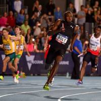 Bolt, Powell guide Bolt All-Stars to relay victory in Nitro Athletics meet