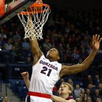 Hachimura biding his time with top-ranked Gonzaga