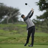 A wicked day of wind and rain play havoc at Pebble Beach
