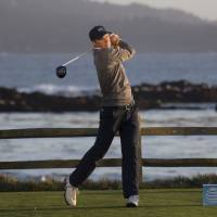 Spieth builds big lead at Pebble Beach
