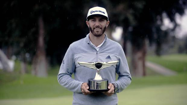 Dustin Johnson goes to No. 1 with win at Riviera