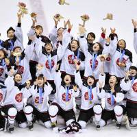 Smile Japan routs China for first Asian Games women's hockey title