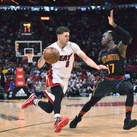 Heat whip Hawks, extend winning streak to nine