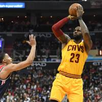 Cavaliers conquer Wizards in overtime