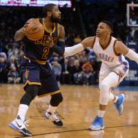 Westbrook cuts down Cavs