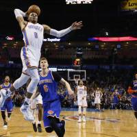 Westbrook bags yet another triple-double
