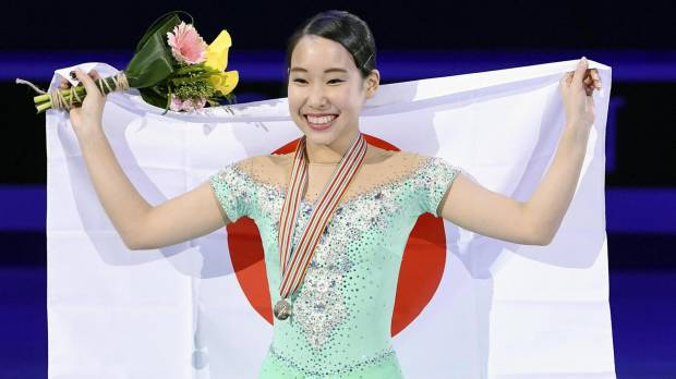 Mihara shocks field, captures Four Continents title