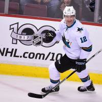 Sharks' Marleau notches 500th career goal