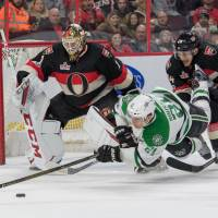 Senators deal Stars fourth consecutive loss