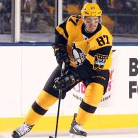 Crosby sends Penguins past Flyers