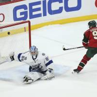 Koivu lifts Wild with lone shootout goal against Lightning