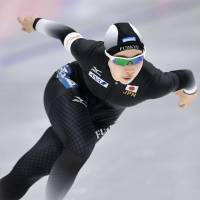 Oshigiri pulls out of World Allround Speed Skating Championships with groin injury