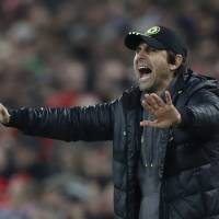 Chelsea manager Antonio Conte's club is in position to win the Premier League title this season. | REUTERS