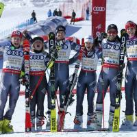 France claims team title at skiing worlds