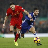 Chelsea comfortable after Liverpool draw