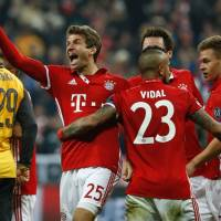 Bayern, Madrid build strong leads in Champions League