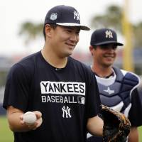 Tanaka named as Yankees' starter for Opening Day