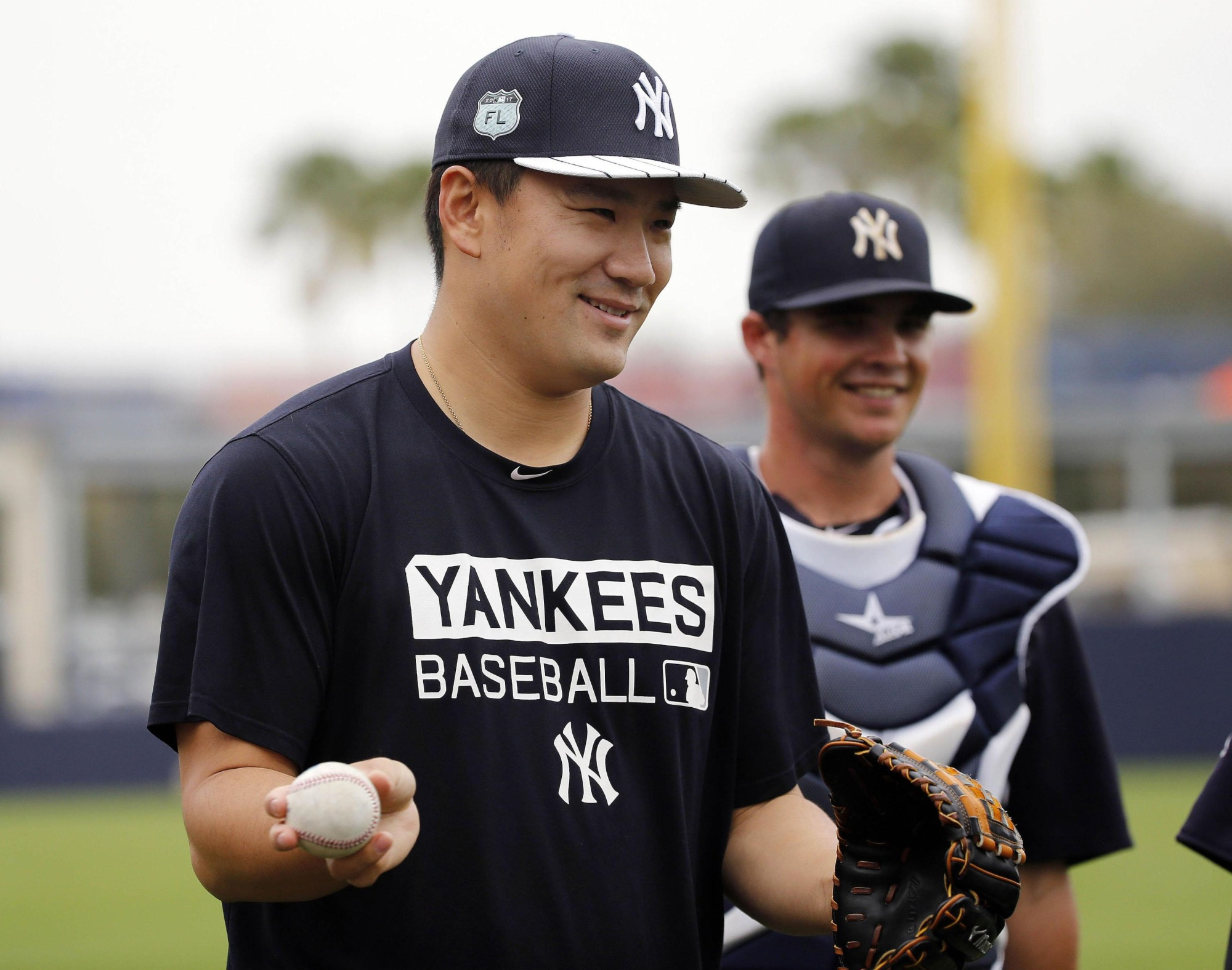 The Yankees have named Masahiro Tanaka as their starting pitcher to face the Rays on Opening Day. | KYODO