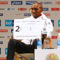 Kipsang targets world record at revamped Tokyo Marathon