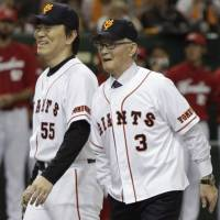 Legend Nagashima rekindles memories of an unforgettable life in baseball