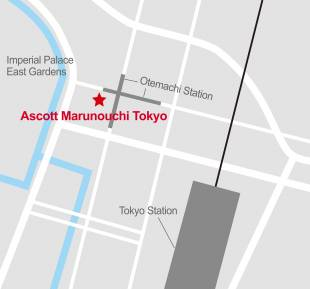 Directly connected to Otemachi subway station About 10 minutes from Tokyo Station