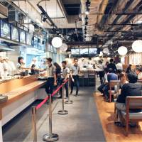 First Japanese food court opens to Myanmar diners