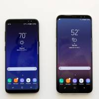 Samsung hopes for rebound with Galaxy S8 phones, virtual assistant Bixby