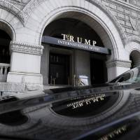 As ethics questions swirl, Trump's DC hotel seen as capital's political hub