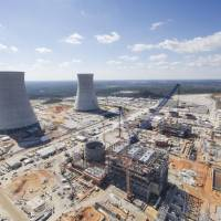 The Vogtle nuclear power plant in Georgia is under construction by Westinghouse Electric Co. | KYODO