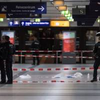 Man arrested after ax attack at Duesseldorf station leaves seven wounded