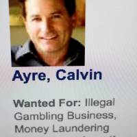 The website of U.S. Immigration and Customs Enforcement shows Calvin Ayre, who is reportedly working with alleged bitcoin creator Craig Wright, as wanted for illegal gambling and money laundering on Jan. 13. | REUTERS