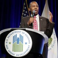 Carson in first speech to HUD draws flak after calling slaves 'immigrants'