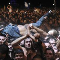 Crush kills two at Argentine rock concert whose crowd topped 170,000