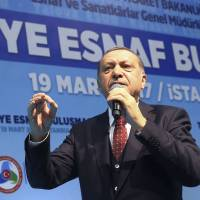 Erdogan has 'gone too far' with Nazi slur, Germany says as Turkish tensions mount across EU