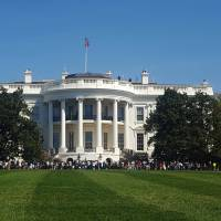 'Troubled person' climbs White House fence