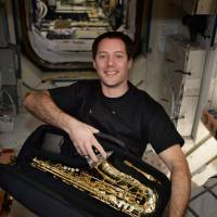 French astronaut serenades ISS with sax solo