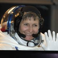 Woman sets spacewalking record as ISS crew lose shield, use patch in its place