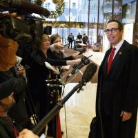 U.S. Treasury's Mnuchin, from Wall Street to Hollywood to G-20 meeting